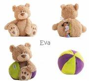 buddy balls - eva mocha bear - Bamser