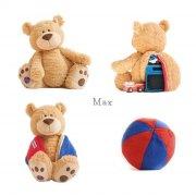 buddy balls - max honey bear - Bamser