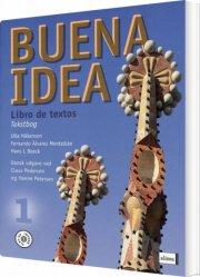 buena idea 1, libro de textos, tekstbog med elev-lyd - bog