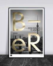 buus works plakat - berlin 50x70cm - Til Boligen