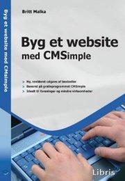 byg et website med cmsimple - bog