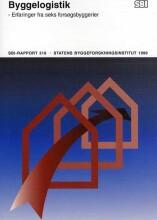byggelogistik - bog