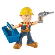 byggemand bob - action figur med skruemaskine og værktøjskasse - Figurer