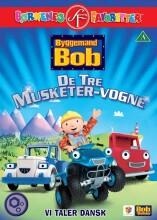 byggemand bob - de tre musketer vogne - DVD