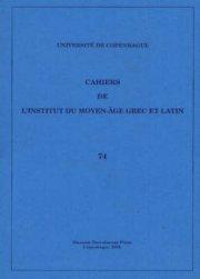 cahiers 74 - bog
