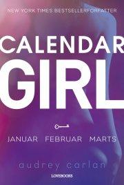 calendar girl 1: januar-februar-marts - bog