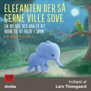 cd- - elefanten der så gerne ville sove - bog