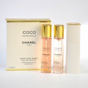 chanel - coco mademoiselle tvist and spray 3x20 ml. eau de toilette - Parfume