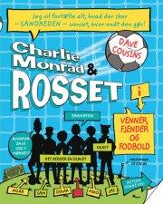 charlie monrad & rosset - venner, fjender og fodbold - bog