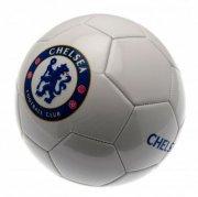 chelsea bold - læder fodbold med logo - str 5 - Merchandise