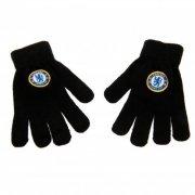 chelsea merchandise - handsker - strik med logo - junior - Babyudstyr