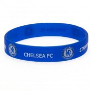 chelsea merchandise - gummi / silikone armbånd med chelsea logo - Merchandise