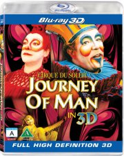 cirque du soleil - journey of man 3d - Blu-Ray