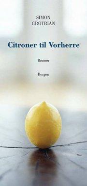 citroner til vorherre - bog