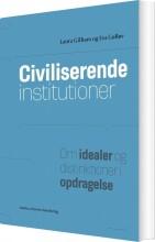 civiliserende institutioner - bog