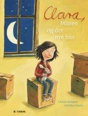 clara, månen og det nye hus - bog