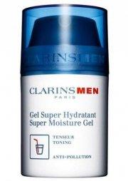 clarins - men super moisture - ansigts gel 50 ml. - Hudpleje