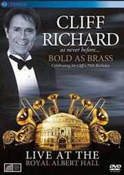 cliff richard - bold as brass - live at royal albert hall - DVD