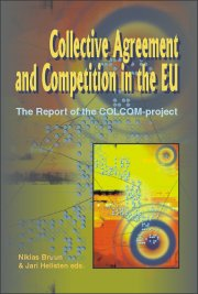collective agreements and competition law in the - bog