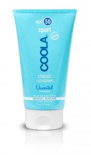 coola - solcreme sport - solfaktor 45 - uparfumeret - vand og svedfast - Hudpleje