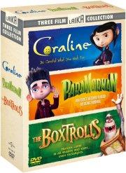 coraline / paranorman / the boxtrolls - boks - DVD