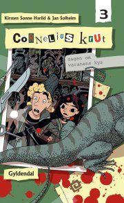 cornelius krut 3 - sagen om varanens kys - bog
