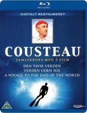 cousteau boks - den tavse verden / verden uden sol / a voyage to the end of the world - Blu-Ray