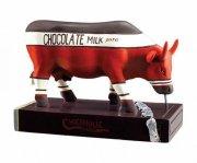 cow parade ko - chocoholic - mellem - 13,5 x 9,5cm - Til Boligen