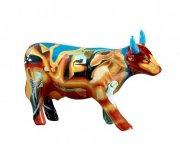cow parade ko - cowlvador dali - mellem - 16,5x11cm - Til Boligen