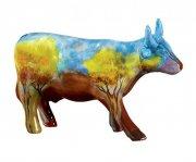 cow parade ko - vaca de cerrado - mellem - 16,5x11cm - Til Boligen