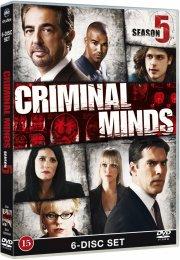 criminal minds - sæson 5 - DVD