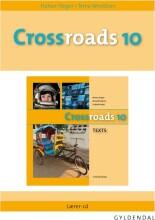 crossroads 10 lærer-cd - bog