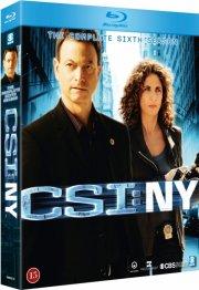 c.s.i. new york - sæson 6 - Blu-Ray