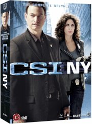 c.s.i. new york - sæson 6 - DVD