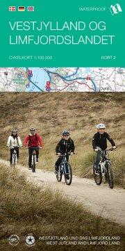 cykelkortserie danmark 2: vestjylland og limfjordslandet - bog