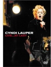 cyndi lauper - live at last - DVD