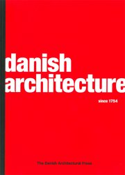 danish architecture since 1754 - bog