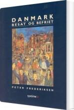 danmark besat og befriet - bog