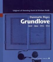 danmarks riges grundlove - bog