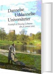 dannelse, uddannelse, universiteter - bog