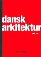 dansk arkitektur siden 1754 - bog