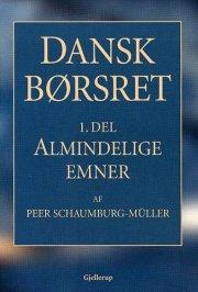 dansk børsret almindelige emner - bog