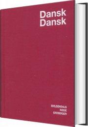 dansk-dansk ordbog - bog