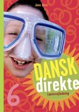 dansk direkte 6 lærervejledning - bog