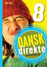 dansk direkte 8 lærervejledning - bog