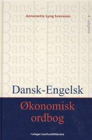 dansk-engelsk økonomisk ordbog - bog