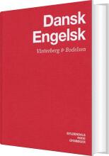 dansk-engelsk ordbog - bog