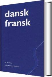 dansk-fransk erhvervsordbog - bog
