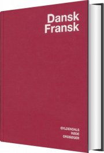 dansk-fransk ordbog - bog