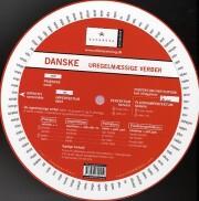 dansk grammatik-hjul, uregelmæssige verber - bog